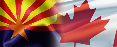 Canadian Arizona Business Council flag